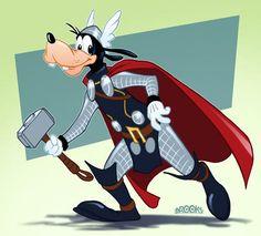 Pluto.....Thor, had to sneak him in tooooo cute :)