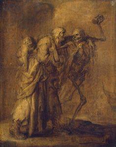 """Adriaen van de Venne """"Dance of Death"""""""