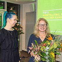 Auf ihrer Wahlversammlung am Samstag haben die Bremer Grünen Kirsten Kappert-Gonther zu ihrer Spitzenkandidatin für die Bundestagswahl im September 2017 gewählt. Kirsten Kappert-Gonther tritt auch als Direktkandidatin im Wahlkreis 54 (Bremen I) an, im Wahlkreis 55 (Bremen II – Bremerhaven) wurde der Bremerhavener Maurice Müller als Direktkandidat aufgestellt.