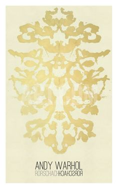 Rorschach, 1984 Giclee Print by Andy Warhol at Art.com