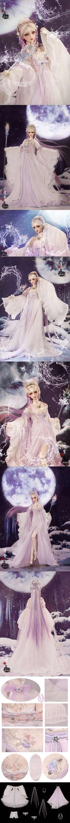 Bjd Clothes Youth Girl Bjd Ancient Chinese Style Dress Fullset/BY CL36220160427…