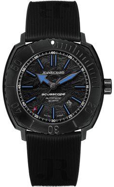 Aquascope Hokusai Black Dial | JEANRICHARD