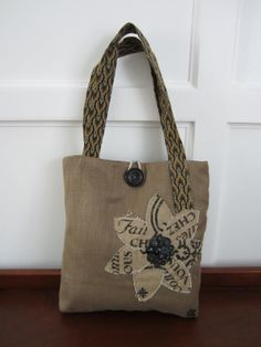 Brown tote bag Black purse  french tote by BerkshireCollections, $45.00