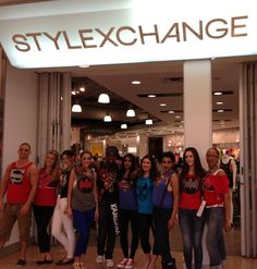 StyleXchange staff geared up in Jack's Custom Cuts in store!