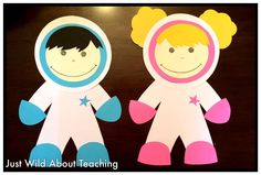 Just Wild About Teaching: Soaring into Space! - Space Unit with Crafts & Printables
