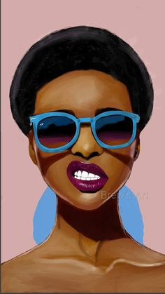 Online shopping from a great selection at Cell Phones & Accessories Store. Black Girl Art, Black Women Art, Black Girl Magic, Art Girl, African American Artwork, African Art, Black Artwork, Cool Artwork, Black Art Pictures