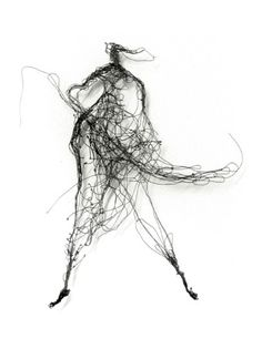 Beautiful Wire Sketches by Henriette Tomasi Steel Sculpture, Sculpture Clay, Wire Sculptures, Dancer Drawing, Gesture Drawing, Art Fil, Muse Art, Still Life Photography, Light Art