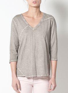 Cotelac V-Neck Tee-Shirt $83
