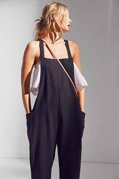 BDG Shapeless Cropped Overall - Urban Outfitters