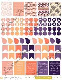 Island Sunset Sticker Kit! Perfect for your Erin Condren Life Planner, Filofax, Kikkik, Plum Paper, Scrapbooking! by LuxuriousPrintables on Etsy https://www.etsy.com/listing/250520232/island-sunset-sticker-kit-perfect-for