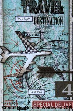Travel album idea.