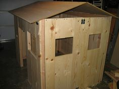 Cool Diy Collapsible Playhouse