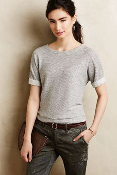 Ridge Line Tee - anthropologie.com