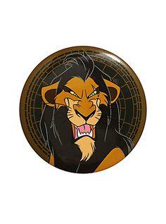 1a1c9b2b5f3 Disney The Lion King Scar 3 Inch Pin