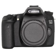 Camera Photo: Canon Eos 70D 20.2 Mp Digital Camera Body Only -> BUY IT NOW ONLY: $736.83 on eBay!