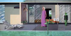 David Hockney: Pop Art y realismo del siglo XX - TrianartsTrianarts