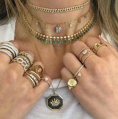 Cute Jewelry, Jewelry Art, Gemstone Jewelry, Jewelry Accessories, Fashion Accessories, Jewelry Design, Cheap Jewelry, Jewellery, Colar Fashion
