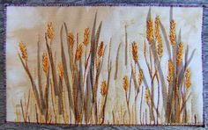 Thread Sketching in Action No 17 � Free stitched grasses � Part 2