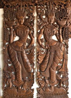 I give for you what was promised, but better yet; I have established the list while in the buy of the lowest price tag to the higher price tag assortment! Large Wood Wall Art, Wooden Wall Art Panels, Panel Wall Art, Wooden Art, Decorative Panels, Wall Mural, Thai Decor, Wood Headboard, Wood Carving Designs
