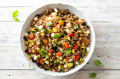 Light Recipes, Fried Rice, Cobb Salad, Salads, Food And Drink, Yummy Food, Healthy Recipes, Cooking, Ethnic Recipes