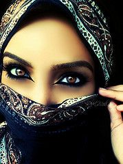Exotic Makeup for Black Women | ... women sad veil desert dream hijab makeup exotic arab saudi arabia