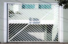 Portão Tubular EP-012 com preenchimento de metalon de aço carbono 100% galvanizado em diversos perfis.
