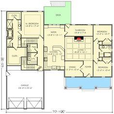 Plan 77619FB: 4 Bed Northwest House Plan with Bonus Room