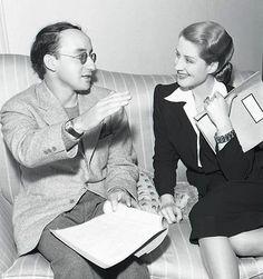 Arch Oboler (with Norma Shearer)