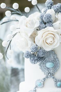 So elegant with that touch of icy blue. TG