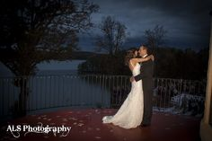 Beautiful sky for the first dance