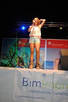 Violetta al BIM Music Network domenica 6 luglio 2014! Fantastica!