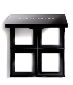 Bobbi Brown Customizable Palette -- This empty mirrored palette is designed to be custom-filled with four of your favorite eye shadows and blushes.