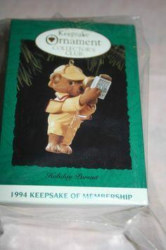 Hallmark Ornament Collector's Club Holiday Pursuit 1994 Membership Keepsake