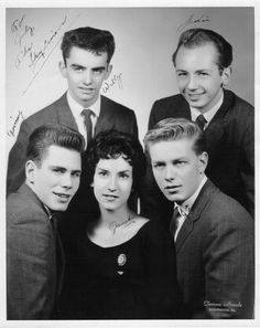 The Skyliners (Since I Don't Have You, This I Swear, Pennies From Heaven) I <3 this group!!!