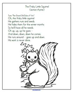 Preschool songs and rhymes about summer