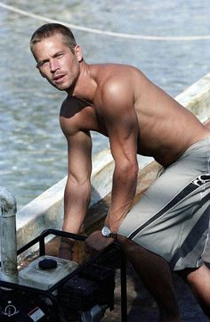Paul Walker in into the blue. Back when I first fell in love with him. I must have been 13 ;)