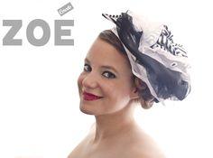 Bibi rayé, accessoire pour cheveux de Zoé Corsets Other Accessories, Hair Accessories, Fascinators, Corsets, Lace, Wedding, Fashion, Valentines Day Weddings, Moda