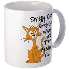 Smelly Cat Small Mugs