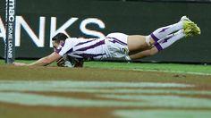 Billy Slater - Melbourne Storm vs Broncos