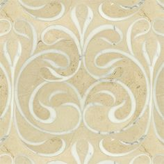 Danse Classique Polished Water Jet Mosaic - Can't even imagine the craftsmanship involved to make this.