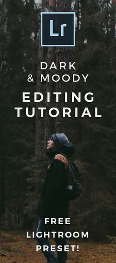 Learn How To Give Your Photos That Dark Moody Look In Lightroom & Download This Dark and Moody Lightroom Preset FREE http://signatureedits.com/lightroom-presets/free-dark-moody-lightroom-preset/