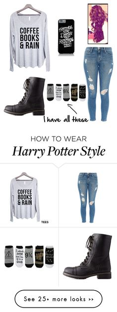 """""""Untitled #324"""" by alwaysapotter-head on Polyvore featuring Frame Denim, Charlotte Russe and sorrynotsorry"""