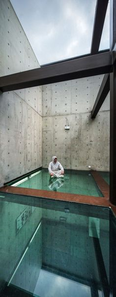 Vertical Glass House  / Atelier FCJZ  I love the idea but I could never live in the house like this