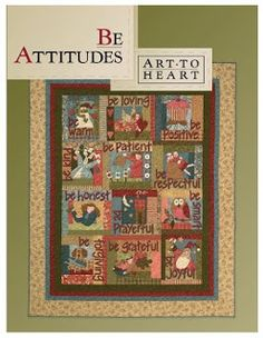 Applewood Quilts Etc.: Be Attitude Gift