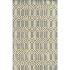 Found it at AllModern - Bruges Hand-Tufted Lime/Charcoal Area Rug
