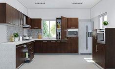 28  Awesome L Shaped Kitchen Ideas : Superb  L shaped kitchen Ideas.