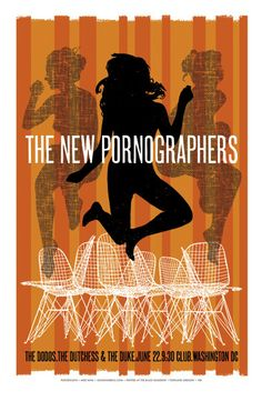 The New Pornographers by Mike King