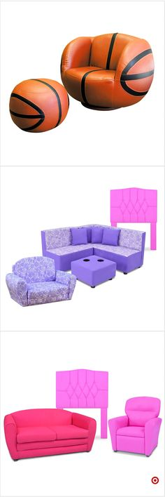 I like the purple Girls Bedroom, Bedroom Decor, Bedroom Ideas, Bedrooms, Kids Sofa, Kids Room Furniture, Toy Rooms, Little Girl Rooms, My New Room