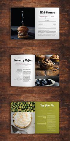 Modeno - A Modern Cookbook Template and wine Magazine Recipes Recipes design Recipes desserts Recipes layout Recipes organization Magazine Recipes Layout Design, Graphisches Design, Food Design, Graphic Design, Design Ideas, Book Design Templates, Indesign Templates, Brochure Template, Cookbook Template