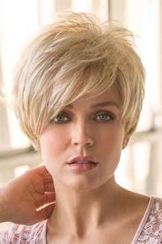 Rene of Paris Wigs Gia # 2359 Long Hair Styles With Layers Gia Paris Rene Wigs Short Hair With Layers, Short Hair Cuts For Women, Short Hair Styles, Short Hairstyles For Women, Straight Hairstyles, Cool Hairstyles, Hairstyle Short, Trending Hairstyles, Hairstyle Ideas